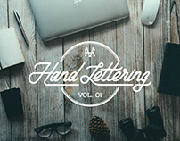 Hand Lettering Vol. 01