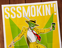 The Mask (advertising poster and sign)