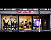 Canon Digital Signage Solution for Tally Weijl
