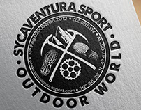 "Logo design for ""SYCAVENTURA Outdoor World"""