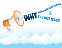 Why people leave your website and why you lose leads