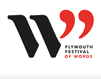 Plymouth Festival of Words: branding