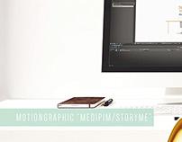 Motiongraphic, POM, StoryMe