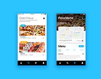Order pickup food UI / UX