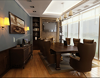 Vip Meeting Room-Credit Agricole bank