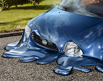 Melting Cars