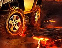 Jeep Wrangler Composition