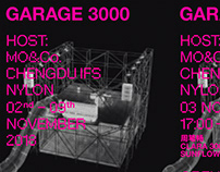 GARAGE 3000 - OPENING MUSIC PARTY