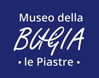 """Logo for """"Museo della Bugia"""" - Museum of Lie in Tuscany"""