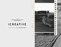 I CREATIVE Productions – Logo & Identity