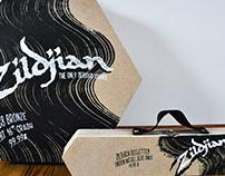 Packaging Zildjian.