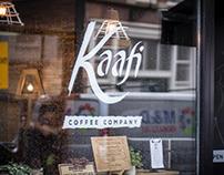 Kaafi Coffee Company Branding