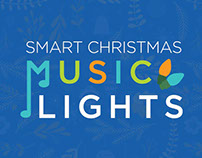 Smart Christmas Music Lights Packaging