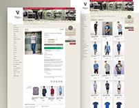 Online store men's underwear