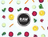 RAW Pressery | Folder Design