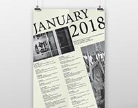 St. Louis Art Museum (Jan 2018) Calendar