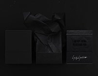 "Yohji Yamamoto ""I am not going to disturb you"" perfume"