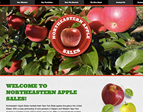 Northeastern Apple Sales Web Design