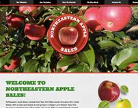 Northeastern Apple Sales Web Design