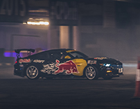 Red bull Car Drift