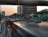 HDR Photo - Gray Public Tranportation