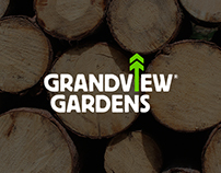 Grandview Gardens tree care brand identity