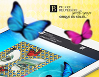 Pierre Belvédère Cirque du Soleil Web Site