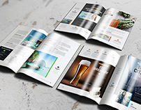 A4 Brochure Magazine Mockup 2