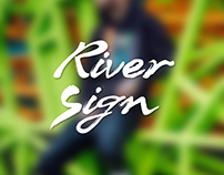 Lifestyle Photography - RiverSign