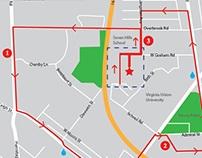 VUU 5K Course Map