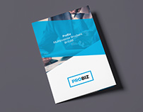 ProBiz – Business and Corporate Brochure Bi-Fold