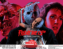 Friday The 13th - The Final Chapter Screen Print
