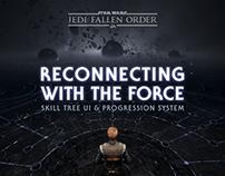 Star Wars Jedi: Fallen Order Skill Tree UI
