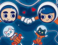 Space Valentine 2017