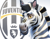 "Juventus - Introducing ""J"" Mascot Design and Promo"
