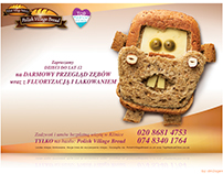 "Brand: Polish Village Bread Project: ""Bakery"""