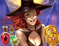 Witchcraft Slot Game Design
