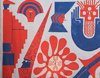 Adobe Mural