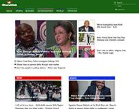 Ghanaweb Web Redesign