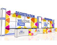 WEC registration desk