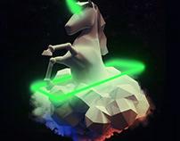 SYNERGICS | unicorn illustration