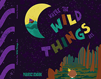 Where the Wild Things Are Book Cover and Endsheets
