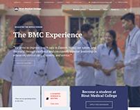 Medical College Website Design
