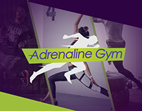 Adrenaline Gym Web-site concept