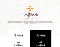 Branding for an Indian Handicraft store.