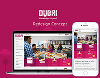 Educational WebSite , Redesign Concept