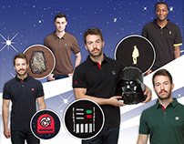 Star Wars Polo Shirt Collection for Ukonic