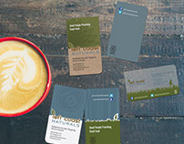 Business Cards - Left Coast Naturals