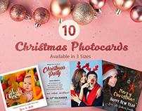 10 Free Christmas Photocards