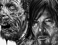 The Walking Dead - Illustration 2016